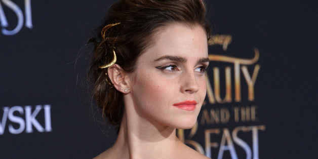 Cast member Emma Watson attends the premiere of the motion picture romantic musical fantasy 'Beauty and the Beast' at the El Capitan Theatre in the Hollywood section of Los Angeles on March 2, 2017. Storyline: A young prince, imprisoned in the form of a beast, can be freed only by true love. What may be his only opportunity arrives when he meets Belle, the only human girl to ever visit the castle since it was enchanted.  PHOTOGRAPH BY UPI / Barcroft ImagesLondon-T:+44 207 033 1031 E:hello@barcro