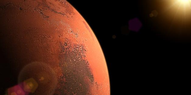 Sunrise in Mars.