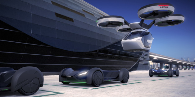 Flugzeughersteller Airbus und Auto-Designer Italdesign wollen Menschen mit autonomen Fahr- und Flugzeugen befördern