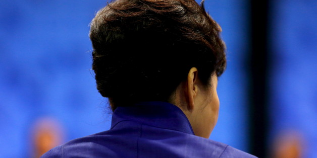 South Korea's President Park Geun-hye participates in the APEC Summit retreat session on regional economic integration in Manila, Philippines, November 19, 2015. REUTERS/Jonathan Ernst
