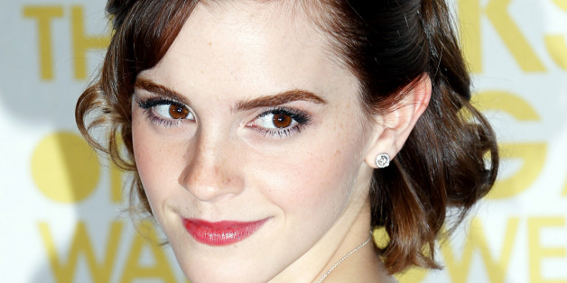 "Cast member Emma Watson arrives for the gala screening of her film ""The Perks of Being a Wallflower"" at the MayFair Hotel in central London, September 26, 2012.  REUTERS/Andrew Winning (BRITAIN - Tags: ENTERTAINMENT)"