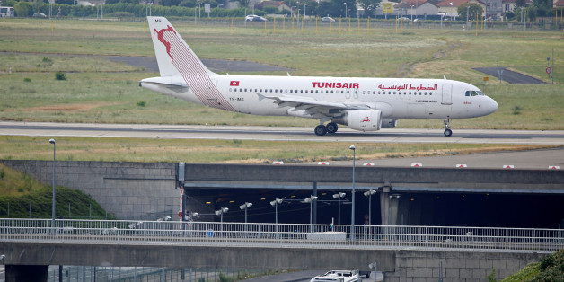 The TS-IMS Tunisair Airbus A320-214 aircraft is pictured at the Paris-Orly airport in Orly, France, August 10, 2016. REUTERS/Jacky Naegelen