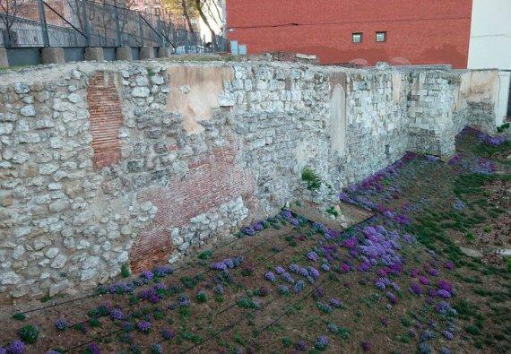 muraille arabe madrid