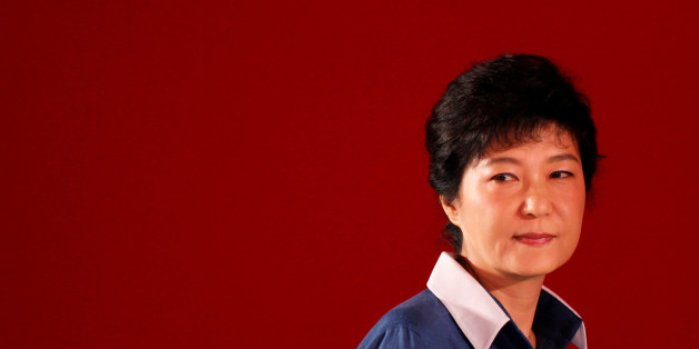 FILE PHOTO: Park Geun-hye attends a national convention of the ruling Saenuri Party in Goyang, north of Seoul August 20, 2012.  REUTERS/Lee Jae-Won/File Photo