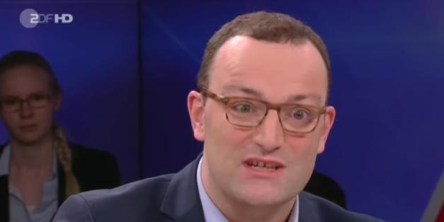 """Der CDU-Politiker Jens Spahn bei """"Maybrit Illner"""""""