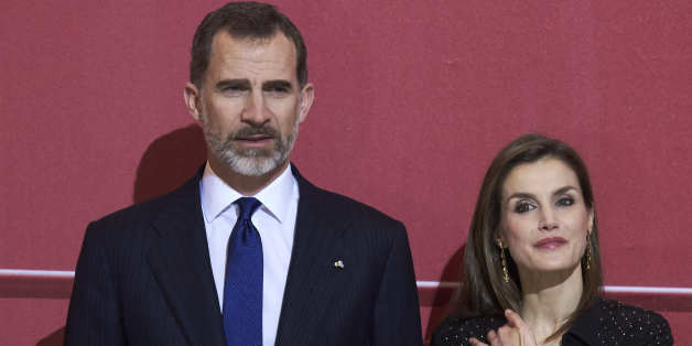 MADRID, SPAIN - MARCH 08:  King Felipe VI of Spain and Queen Letizia of Spain attend tribute concert 'In Memoriam' for terrorism victims at the Auditorio Nacional de Musica on March 8, 2017 in Madrid, Spain.  (Photo by Carlos Alvarez/Getty Images)