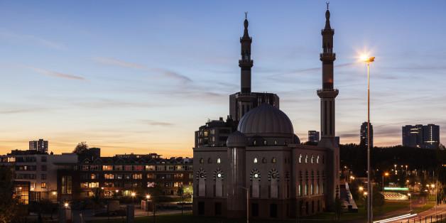 Essalam Mosque. Rotterdam, South Holland, Netherlands