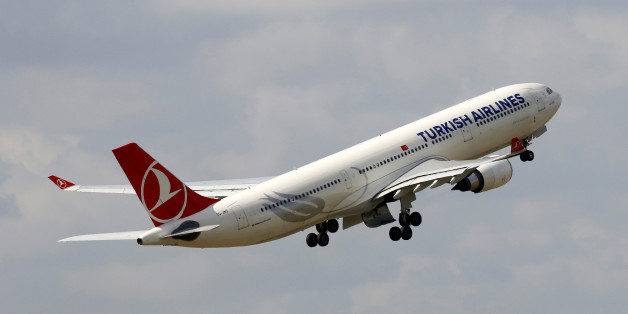A Turkish Airlines  Airbus A330 aircraft takes off at the Charles de Gaulle airport in Roissy, France, August 9, 2016. REUTERS/Jacky Naegelen