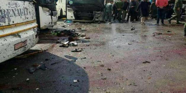 Au moins 30 morts dans un double attentat à Damas selon l'OSDH