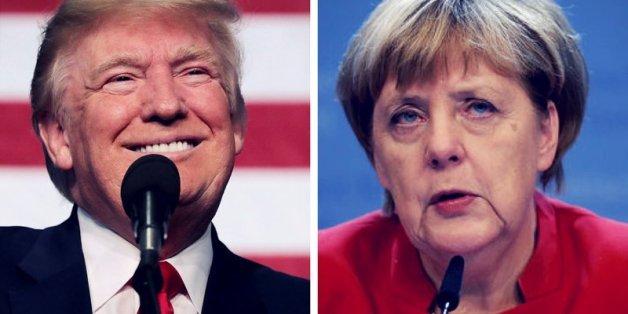 Trump und Merkel: Der Besuch der Bundeskanzlerin in Washington wird eine harte Probe