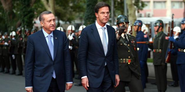 Bild aus ruhigeren Zeiten: Recep Tayyip Erdogan und Mark Rutte im Jahr 2012