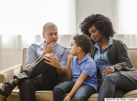 family serious talk