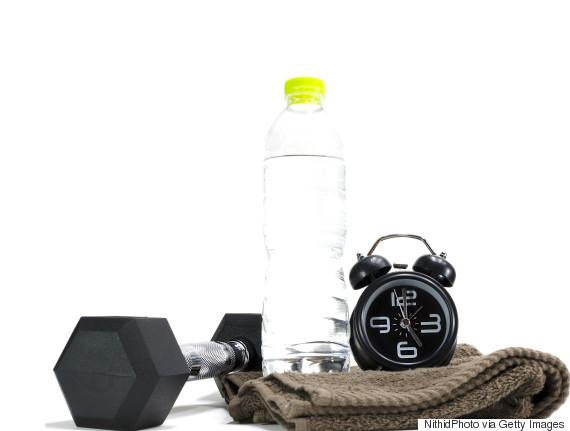 gym alarm clock