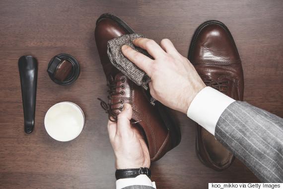 business man shoes