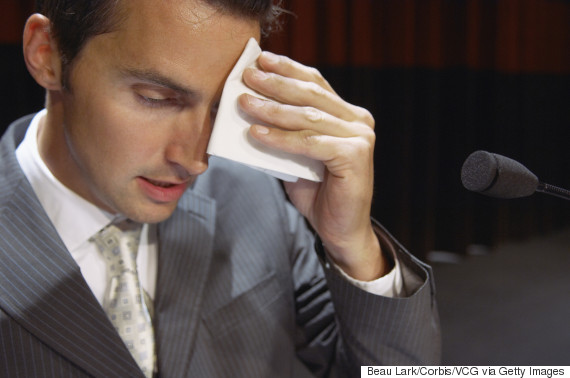 handkerchief sweat man