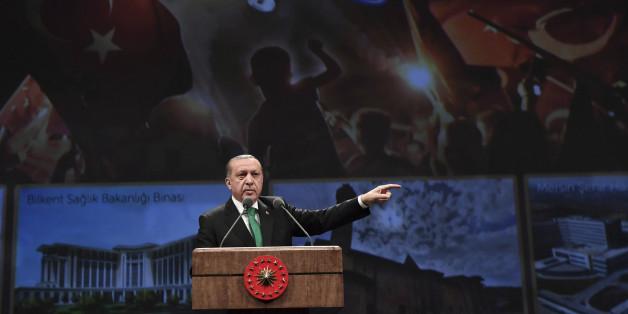 """Erdogan wirft den Niederlande """"Staatsterrorismus"""" vor"""