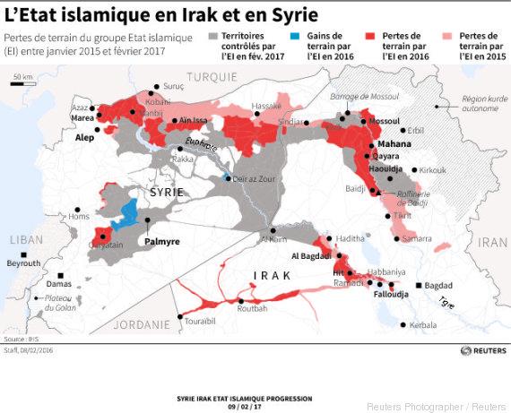 syrie irak etat islamique