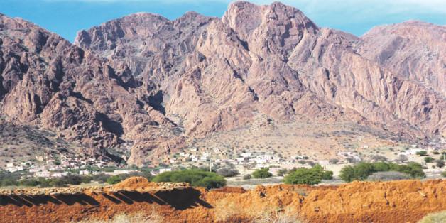 La découverte a été faite dans l'anti-atlas à près de 10 km de la ville de Taznakht dans la province de Ouarzazate