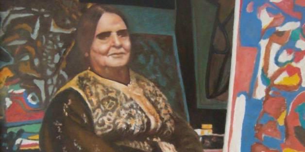 L'artiste Chaibia Talal (1929-2004), par le peintre Youssef Benjelloun