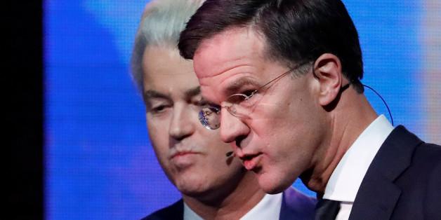 Niederlande-Wahlen: Erste Prognosen sehen Premier Mark Rutte vorn