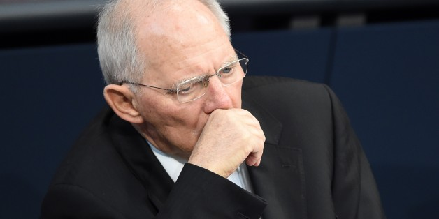 BERLIN, GERMANY - MARCH 09: German Finance Minister Wolfgang Schaeuble attends the session at the Bundestag, the German Parliament in Berlin, Germany on March 09, 2017. (Photo by Maurizio Gambarini/Anadolu Agency/Getty Images)