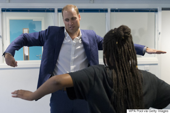 prince william dance