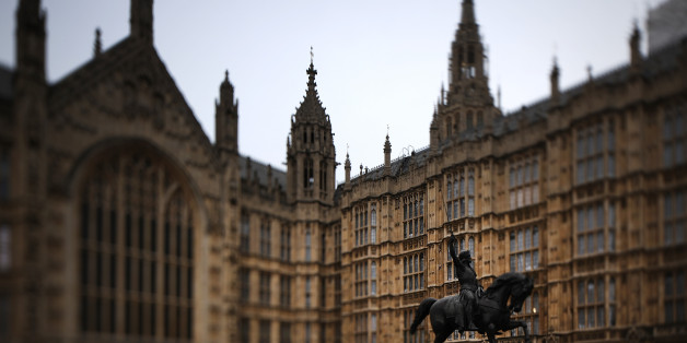 LONDON, ENGLAND - MARCH 14:  (EDITORS NOTE: This image was created using a tilt shift lens) A grey dawn breaks over Elizabeth Tower and parliament on March 14, 2017 in London, England. Reports suggest that Article 50 could be triggered soon and begin the process that will take Britain out of the European Union after parliament has passed the Brexit bill last night.  (Photo by Christopher Furlong/Getty Images)