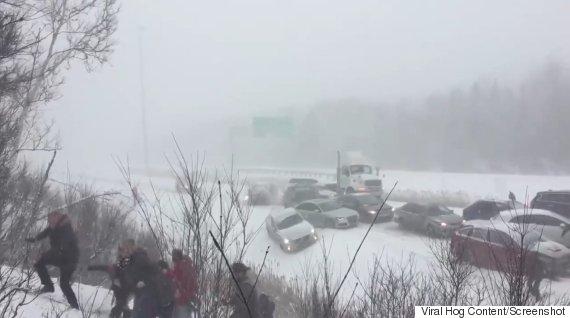 highway 401 pileup