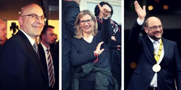 Auf dem Rückweg zur Volkspartei: Die SPD kann sich Hoffnungen auf gleich drei Landtagswahlsiege machen