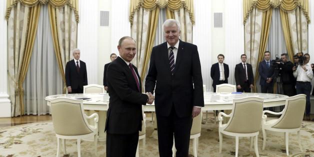 Für Freiheit und Wirtschaftsinteressen: Horst Seehofers heikler Besuch bei Wladimir Putin