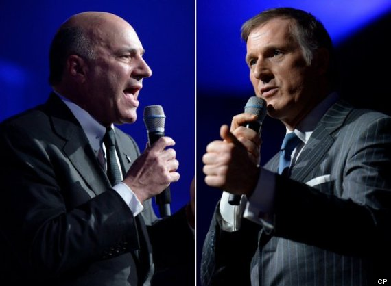kevin oleary maxime bernier