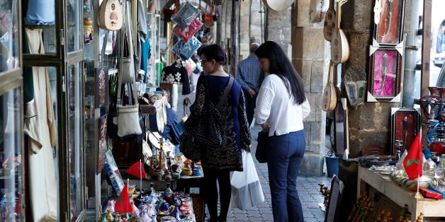 Des touristes chinois à Casablanca, octobre 2016