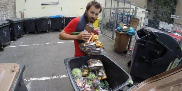 Baptiste Dubanchet veut lutter contre le gaspillage alimentaire.