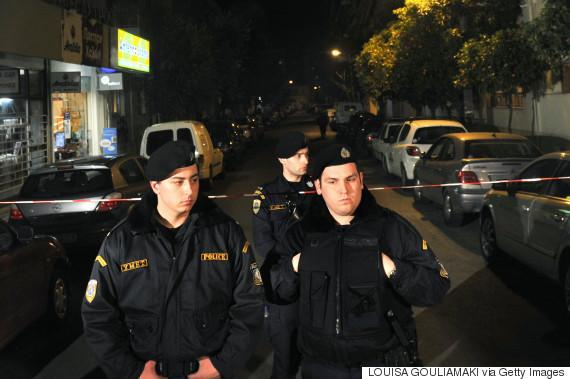 athens police left terrorism