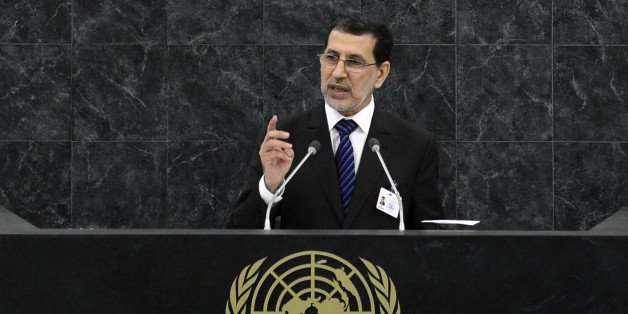 Saad Eddine El Othmani, minister for foreign affairs of Morocco, addresses the 68th session of the United Nations General Assembly in New York September 30, 2013.  REUTERS/Adrees Latif (UNITED STATES - Tags: POLITICS)
