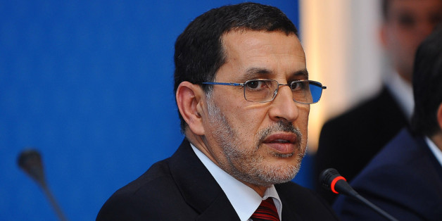 """Morocco's Foreign Minister Saad-Eddine El Othmani attends a """"Friends of Syria"""" group conference in Marrakech December 12, 2012. The group, Western and Arab nations sympathetic to Syria's uprising against President Bashar al-Assad, gave full political recognition on Wednesday to Syria's opposition, reflecting a hardening consensus that the 20-month-old uprising might be nearing a tipping point. REUTERS/Abderrahmane Mokhtari (MOROCCO - Tags: POLITICS)"""