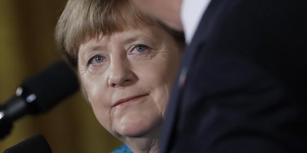 """Donald Trump witzelt bei Merkel-Besuch: """"Abgehört werden - wenigsten etwas haben wir gemeinsam"""""""