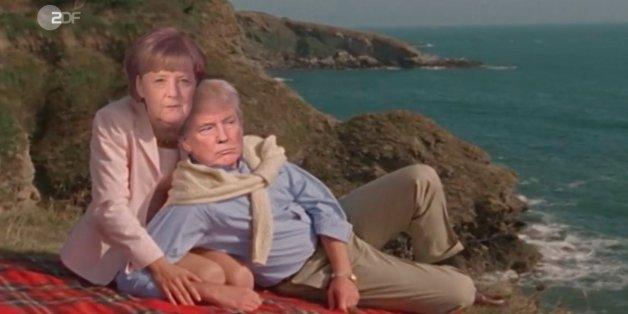 """""""Heute Show"""" erklärt, warum sich Merkel und Trump am Ende doch verstehen werden."""