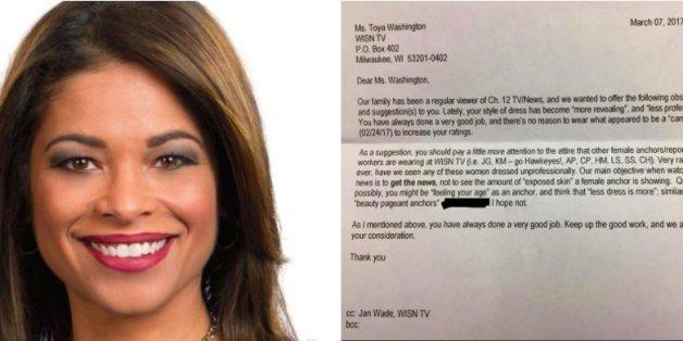 Ein Fan kritisiert den Kleidungsstil einer TV-Moderatorin - und die antwortet perfekt