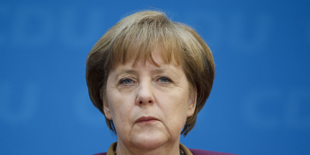 BERLIN, GERMANY - MARCH 26: Portrait of German Federal Chancellor Angela Merkel on March 26, 2012, in Berlin, Germany. Photo by Thomas Trutschel/Photothek via Getty Images)***Local Caption***Angela Merkel