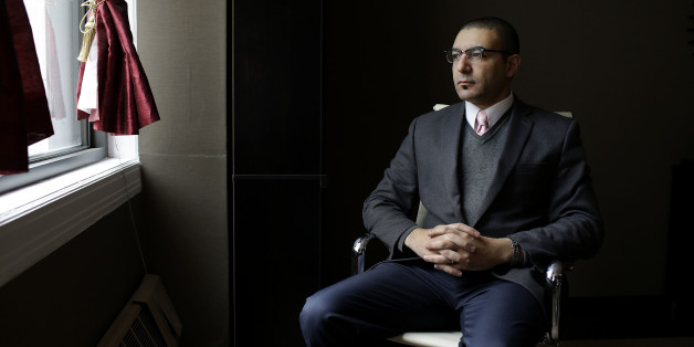 Ahmed Rehab, Executive Director of the Chicago Office of the Council on American-Islamic Relations, poses for a portrait at his office March 18, 2017 in Chicago, Illinois. 