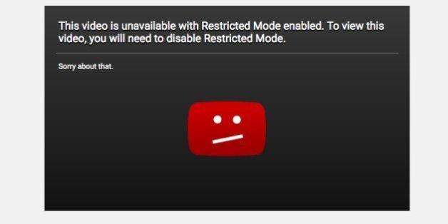 """YouTube se fait incendier avec son """"mode restreint"""" qui bloque des vidéos LGBT."""