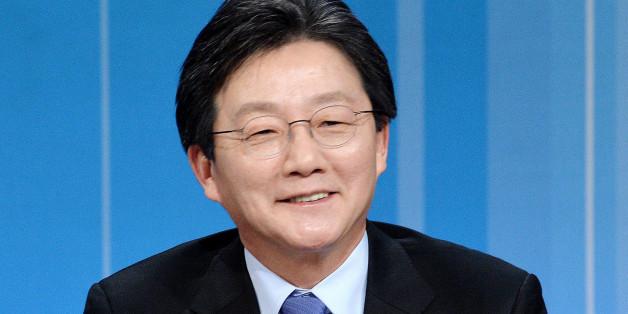 유승민 바른정당 대선주자가 20일 오후 서울 여의도 KBS본관에서 열린 '2017대선 바른정당 후보자 경선토론'에서 발언을 하고 있다.