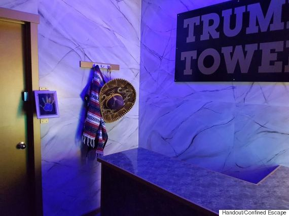 trump tower escape room