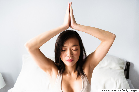 asian meditate