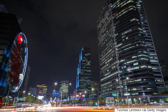 korea building