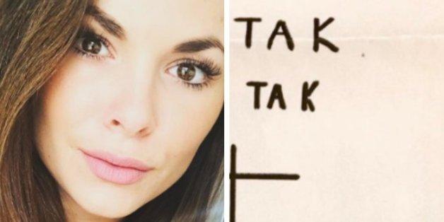 """Seit ihrer Teilnahme am """"Bachelor"""" wird sie bedroht - jetzt veröffentlicht sie einen grausamen Stalker-Brief"""