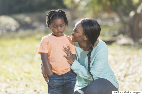 parent child talking