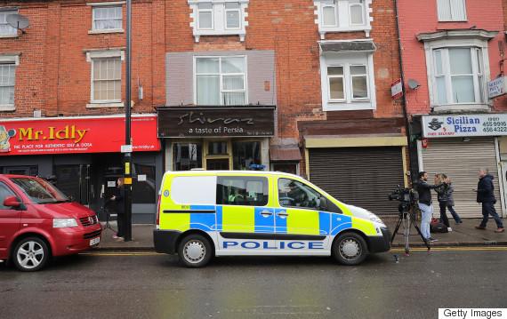 london attack raids