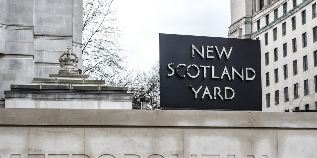 Floral tributes sit outside New Scotland Yard following yesterday's attack in which one police officer was killed on March 23, 2017 in London, England Police continue investigations after the terror attack in London yesterday in which a car was driven into pedestrians on Westminster Bridge and then into railings outside the Houses of Parliament, where a knifeman stabbed a police officer named as PC Keith Palmer, who subsequently died from his injuries. The attacker also died after security forces shot him. Two other people died in the incident and approx 40 were injured, some 'catastrophically'. A woman was pulled alive from the Thames after reportedly jumping off the bridge to escape the attack. Proceedings in the House of Commons were suspended and the chamber placed into lockdown for the protection of MPs. The attack occurred on the 1st anniversary of the Brussels terror attacks. (Photo by Alberto Pezzali/NurPhoto via Getty Images)